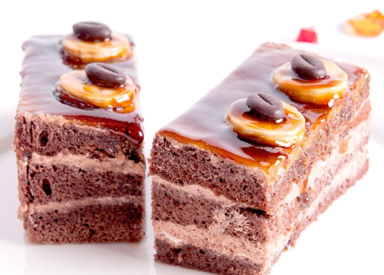 Prajitura caramel cu ciocolata