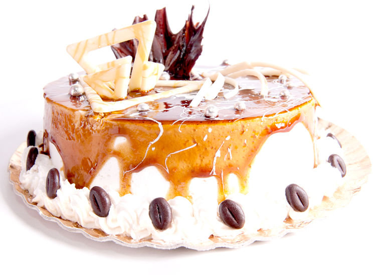 Tort caramel
