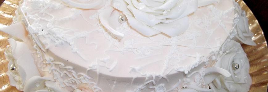 Tort flori din martipan