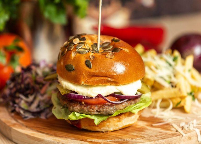 Meniu Burger Beef & Pork