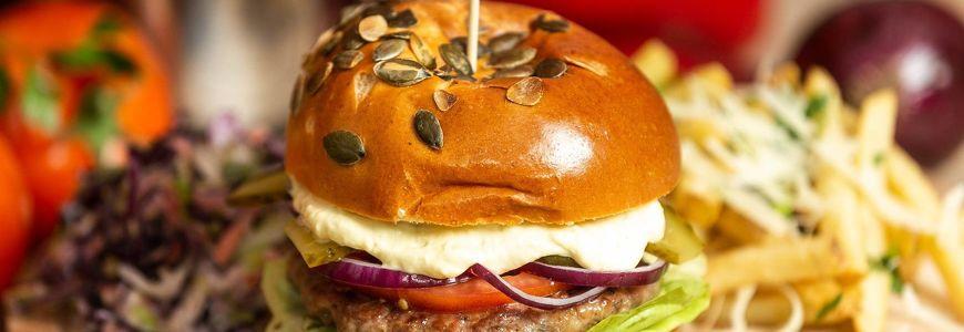 Burger porc si vita