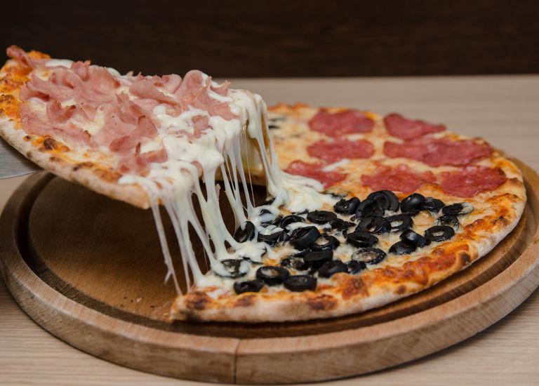 Pizza Qquattro Stagioni